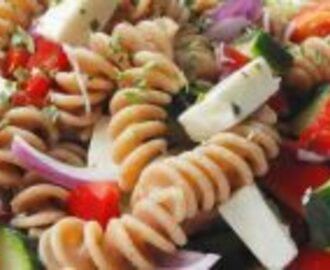 greek pasta salad: meals for your bikini body
