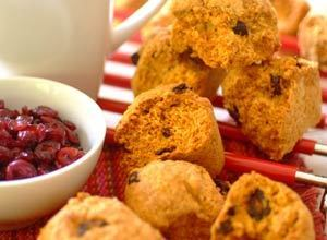 Coconut Cranberry Rusks Recipe