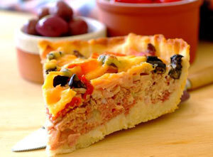 Deli Meat Pie Recipe