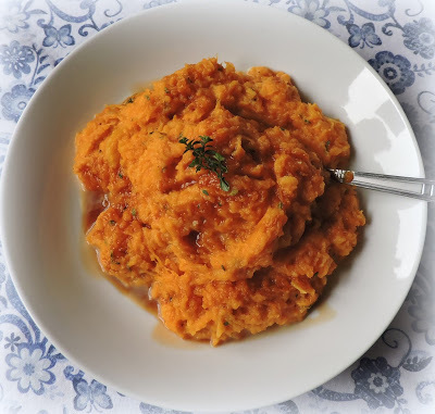 Maple Mashed Butternut Squash