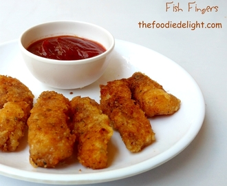 Easy Fish Fingers Recipe | How to Make Fish Fingers