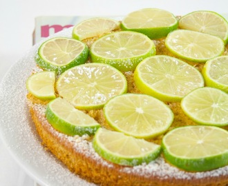 Torta light all'olio extravergine d'oliva al profumo di zenzero e lime / Lime & ginger light extra virgin olive oil cake recipe