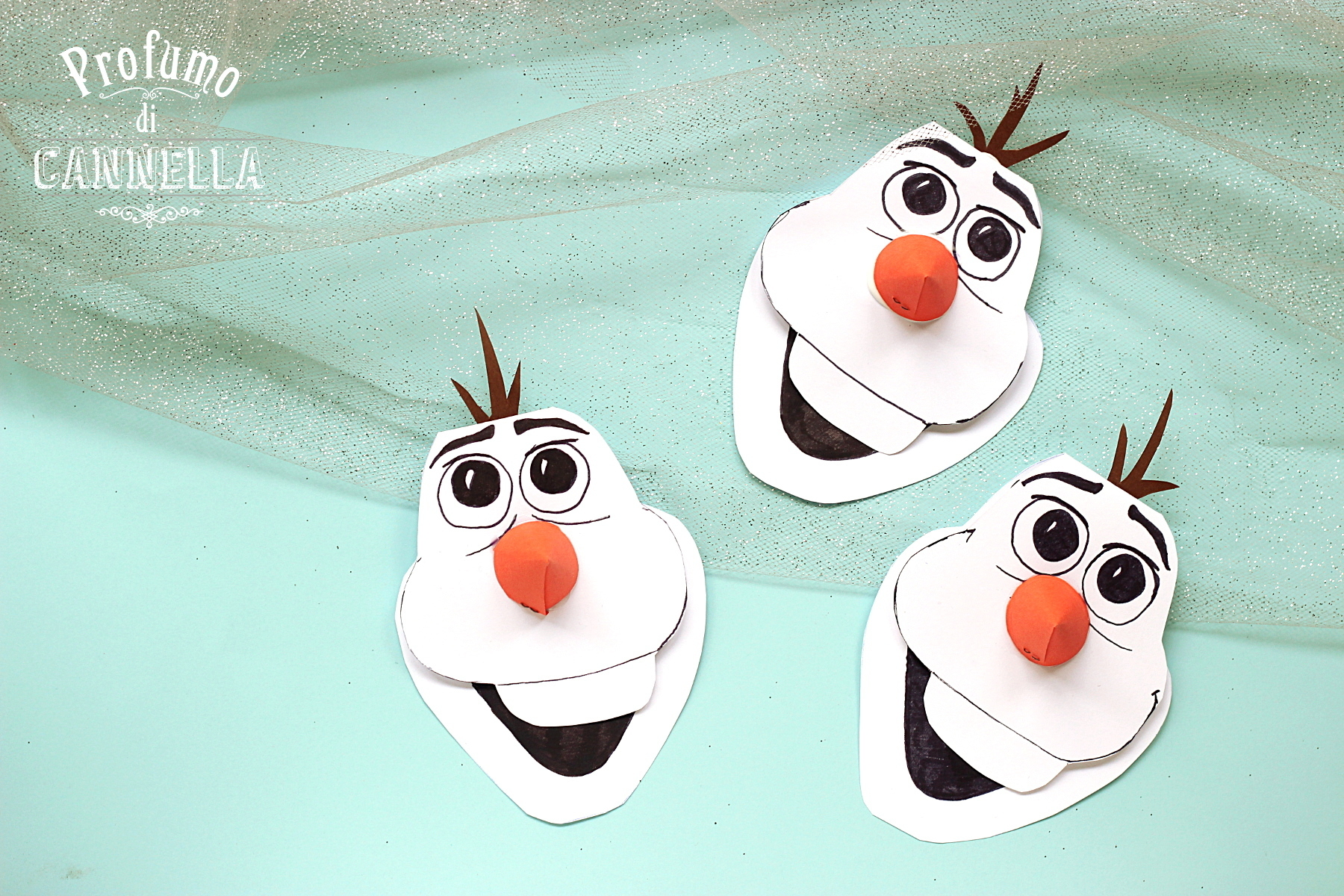 Inviti Olaf per feste di compleanno – Do It Yourself (Fai da te)
