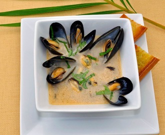 Mussels Throwdown – Thai Coconut & Basil vs. French Moules a la Mariniere