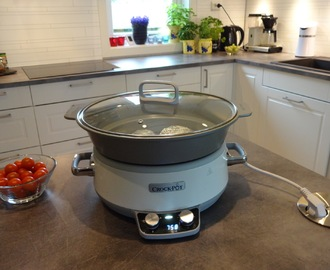Bakt potet i Crock-Pot ♫