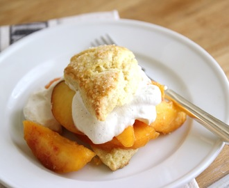Fresh Peaches with Sugared Scones | And... My New Store Coming Soon!