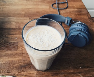Protein smoothie med banan (Recept)