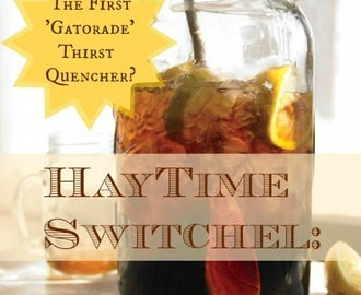 Haytime Switchel: The First 'Gatorade' Thirst Quencher?