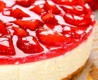 Cheesecake alle fragole