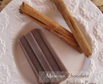 Mexican Chocolate Pudding Pops