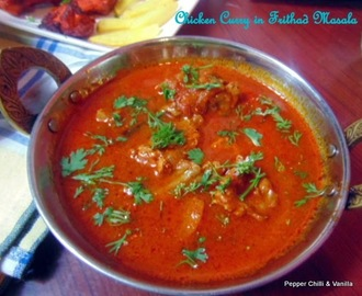 Chicken Curry in Frithad Masala