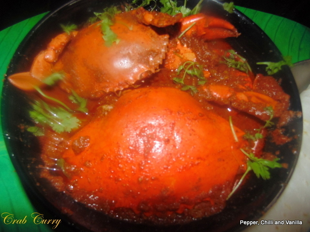 Crab Curry...East Indian Style