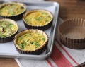 Individual Quiche Tarts | Make Ahead Easy Entertaining