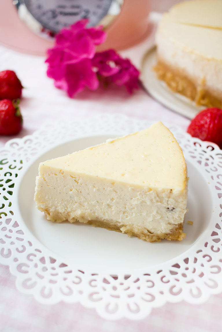 Der beste low carb New York Cheesecake