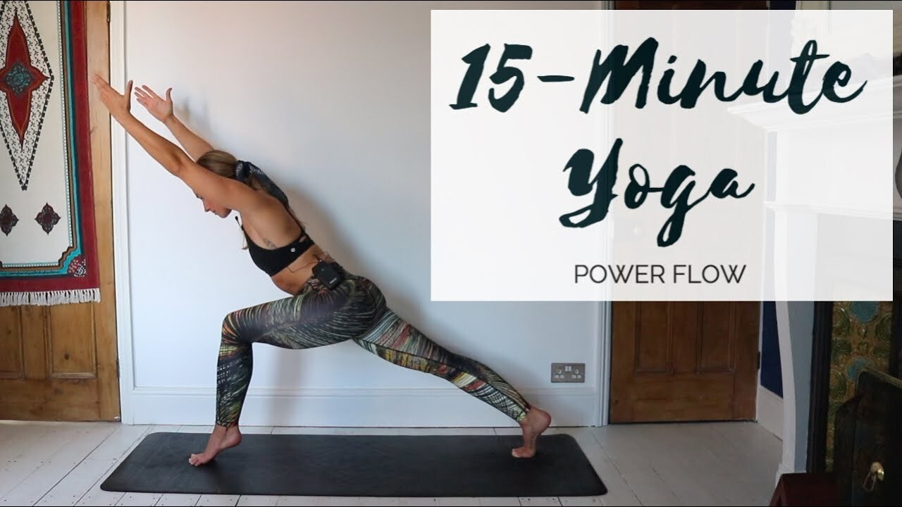 15-MINUTE YOGA | Power Yoga Flow | CAT MEFFAN