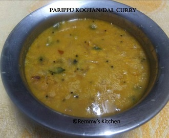 Parippu kootan/Easy Chana Dal curry