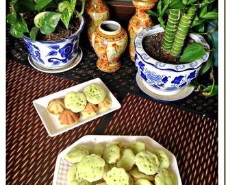 I Am Unsure If The Name Of This Traditional Cake Is Correct… Kuih Manggis, Kuih Syara (香兰小青糕)