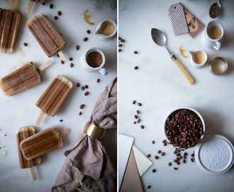 Coffee Popsicles – Eiskaffee am Stiel.