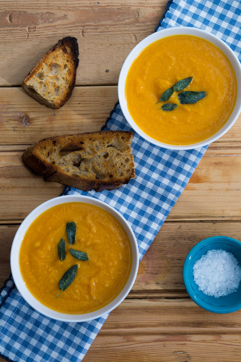 Roasted Butternut Soup