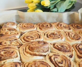 Fast and fabulous cinnamon rolls