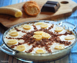 [No Bake] Banana Cream Pie mit Cooookies!
