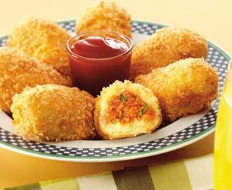 Chicken Potato Croquettes