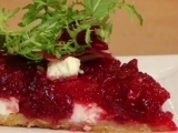 Upside-down Beetroot & Feta TartEasy light food!