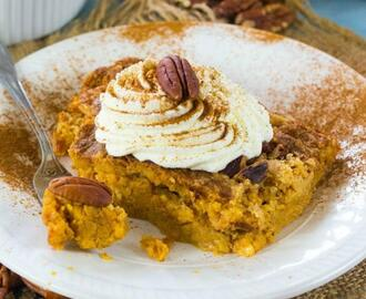 Easy Pumpkin Dump Cake Recipe with Yellow Cake Mix