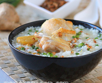 Arroz Caldo (Savory Chicken and Rice Porridge)