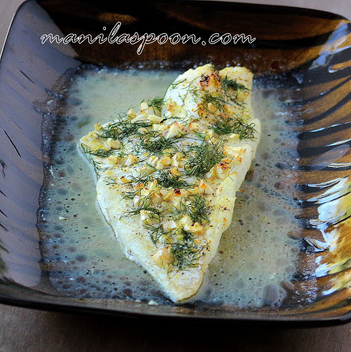 Dilled Baked Cod with Lemon and Olive Oil