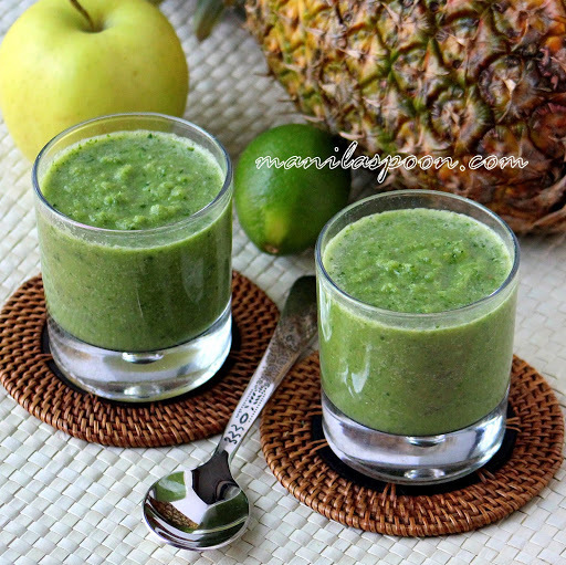 Apple and Lime Green Smoothie
