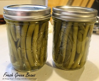 Canning Fresh Green Beans