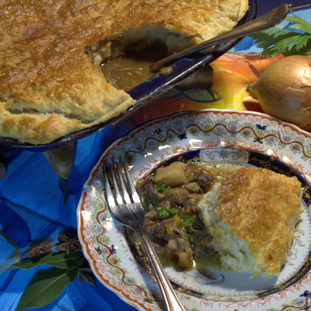 Aromatic Beef Pie Recipe