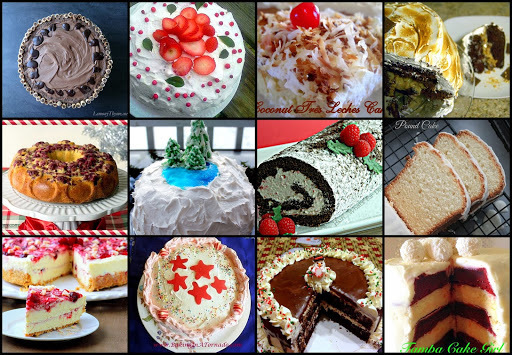 12 Cakes of December - Recipe Round Up