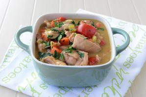 Energy Saving Chicken and Celery Casserole