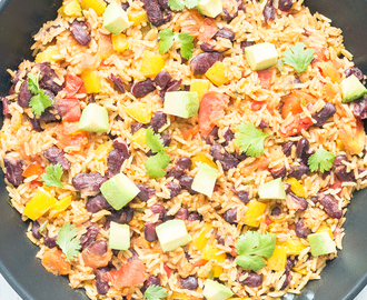 One Pan Mexican Fried Rice