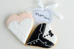 Gingerbread People and Heart Bodice and Tuxedo
