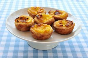 Flaky Custard Tarts