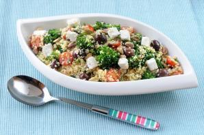 Broccoli and Bulghur Wheat Salad