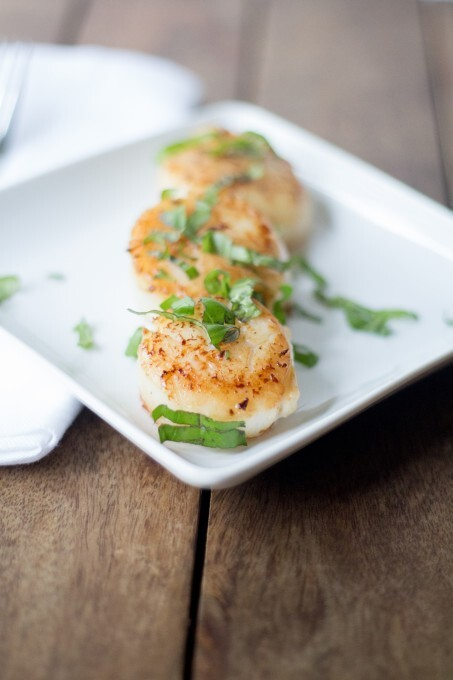 Scallops in Herb Butter