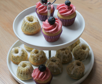 Sweets for my sweet: Beerige Mini Cupcakes und Zitronen-Mohn-Gugl