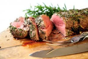 Herb Crusted Beef Fillet