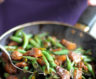 Stir Fried French Beans and Pork (Baguio Beans Guisado)