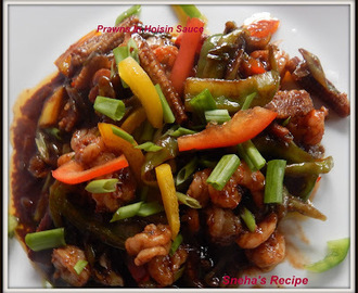 Prawns In Hoisin Sauce#FishFriday