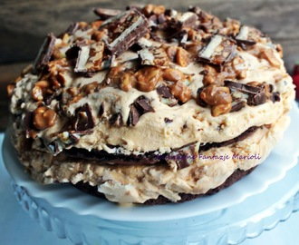 TORT   LODOWY   SNICKERS