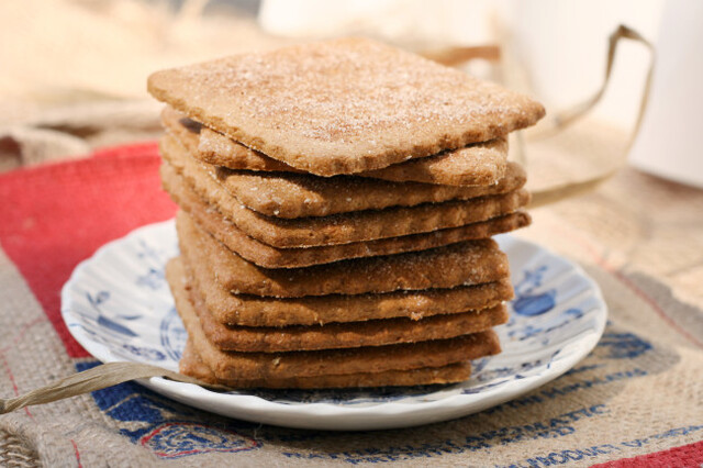 Homemade Graham Crackers for Crazy Good S'mores