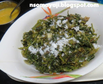 Quick Palak Dry Curry