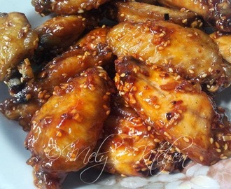 Orange Chicken Wings