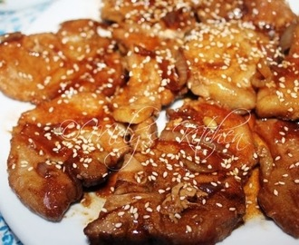 Pork Chop Teriyaki (Filipino Style)