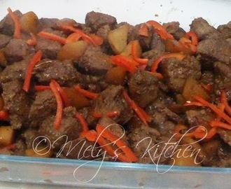 Pork Adobo with Potato